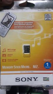 Cartão De Memória M2 Sony Original 1gb Carta Registrada