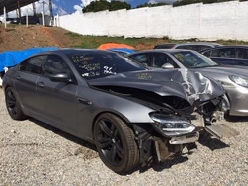 Bmw M6 Gran Coupe 2015 - Sucata Motor Peças Acessórios