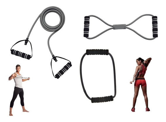 Bandas Elasticas Premium, Kit De Resistencia