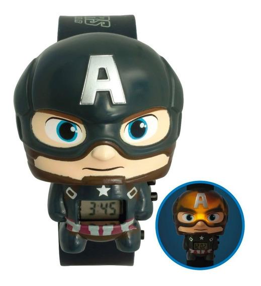 Reloj Niño Avenger Capitan America Lego & Bulbbotz Oficial