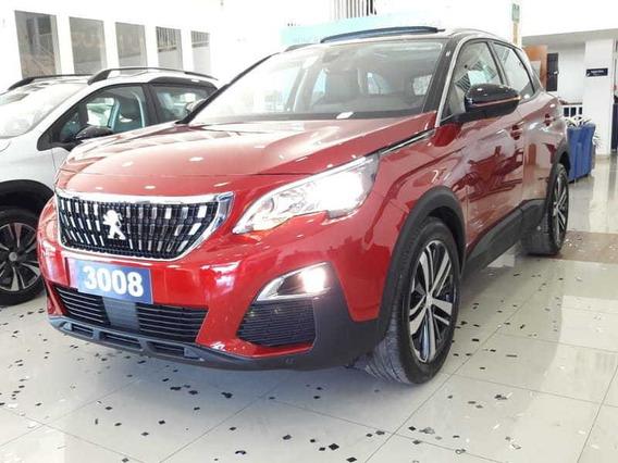 Peugeot 3008 Allure C/ Teto 1° Parcela Só Para Novemb