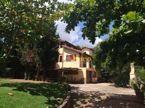 Chácara Com 4 Dormitórios À Venda, 1200 M² Por R$ 580.000,00 - San Martin - Itatiba/sp - Ch0197