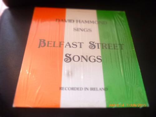 Vinilo Lp  De  David Hammond -sings Belfast Street (u885