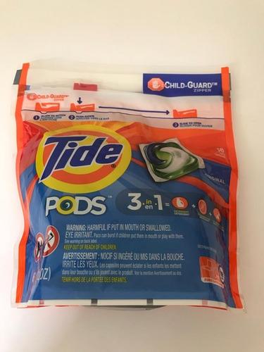 Imagem 1 de 1 de Detergente Para A Roupa Tide 16 Pods Original