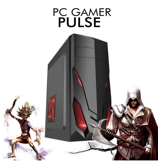 Pc Gamer Pulse - Intel Pentium G5400, Rx 550 2gb, 1tb, 8gb
