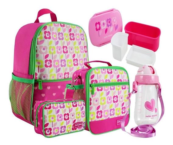 Kit Escolar Infantil Feminina - Jacki Design