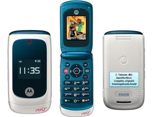 Imagem 1 de 7 de Celular Raro Motorola Flip Rokr,novo,anatel,rádio,bluetooth