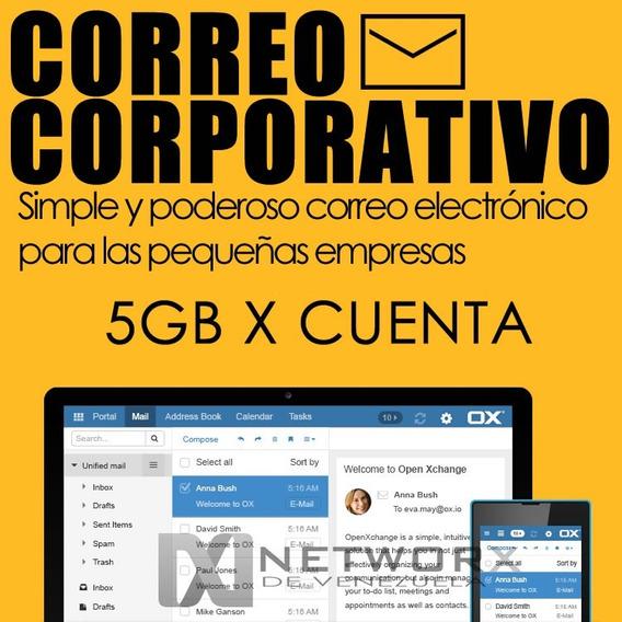 Dominio .com.ve + Correo Corporativo Económico 5gb X Cuenta