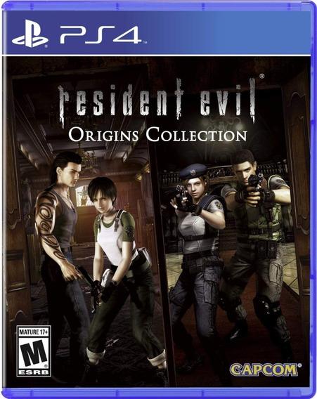 Resident Evil 0 + Resident Evil 1 Ps4 1ª Digital Psn