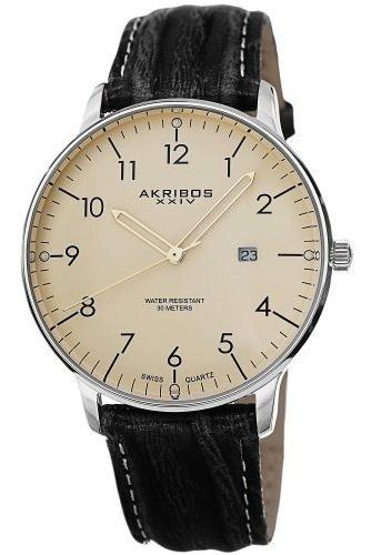 Reloj Akribos Xxiv Ak715 40mm Cuarzo *jcvboutique*