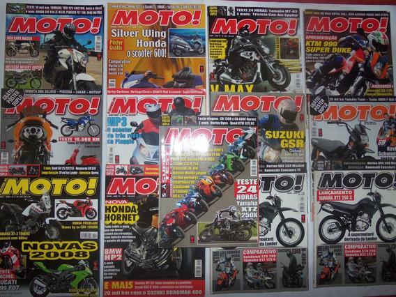 Lote Da Revista Revista Da Moto , Em Bom Estado