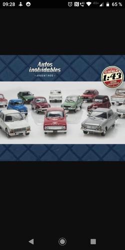 Colección De Autos Inolvidable Autos Argentinos N1 Al 100 T