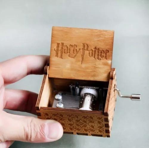 Harry Potter Caixinha De Música - Com O Tema Do Filme Novid
