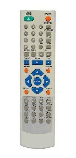 Controle Genérico Dvd Cce 600x 603dvx 610dvx 614dvx 625dvx