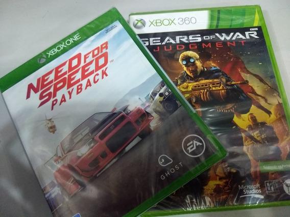 Need For Speed Payback Xbox One Mídia Física + Jogo Brinde
