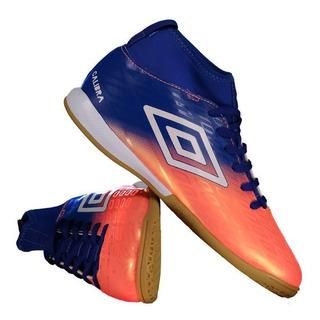 Chuteira Umbro Calibra Futsal Azul