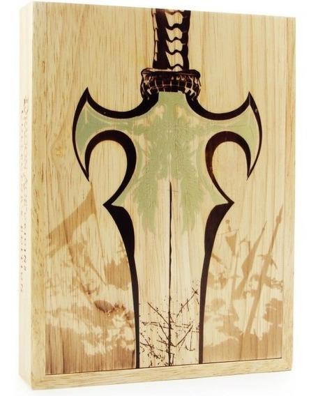 Dragon Age Origins Caixa De Madeira(ps3) Colecionador Raro