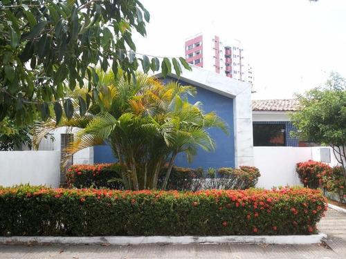 Casa Em Ilha Do Leite, Recife/pe De 350m² Para Locação R$ 8.000,00/mes - Ca739373
