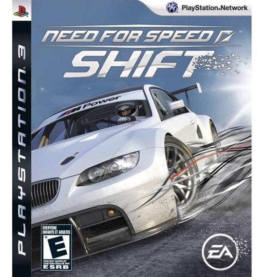 Need For Speed Shift Ps3 Mídia Física