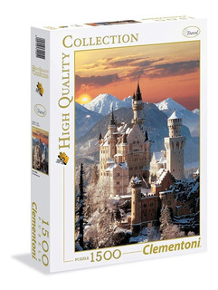 Castillo De Neuschwanstein 1500 Piezas Clementoni