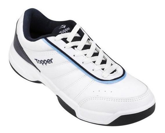 Zapatillas Topper Tie Break Iii Tennis Adulto 35 Al 45