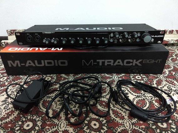 Interface De Audio M-audio M-track Eight
