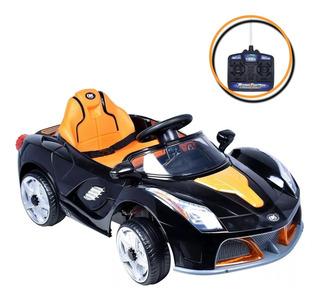 Mini Carrinho Elétrico Infantil Modelo Velocity 6v Preto
