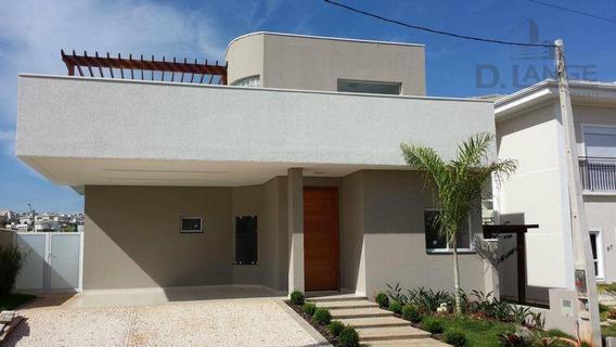Linda Casa Térrea Com 265m² - 3 Dormitórios, Churrasqueira No Piso Superior. Projeto Diferenciado - Ca8018