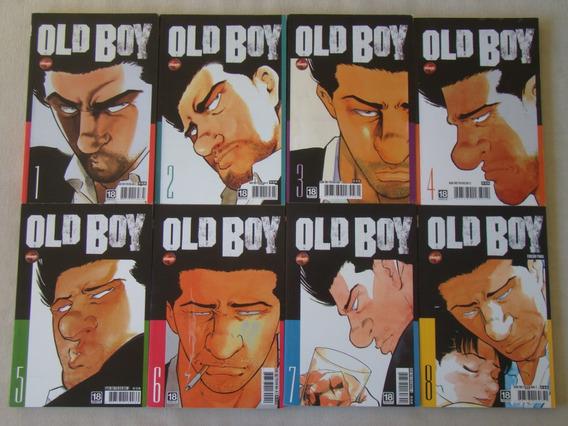 Lote 8 Livros / Hq - Oldboy - Tsuchiya