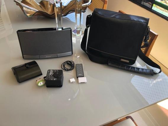 Sistema De Áudio Bose Sounddock Portable Com Duas Baterias