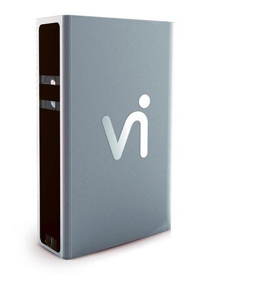 Vi Center Cinza - Powerbank + Teclado Virtual