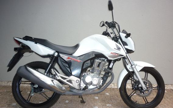 Honda Cg 160 Fan Branca 1005
