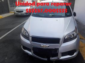 Chevrolet Aveo Lt 2015 Arrancando, Para Reparar