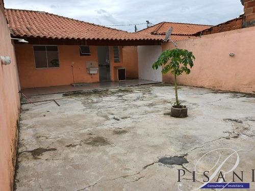 Imagem 1 de 21 de Campo Grande, Villagio Do Campo, Casa Linear Com 2 Quartos, Vaga , Amplo Quintal - Ca00051 - 2004688