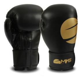 Luva Boxe Mks Combat Champions Gold