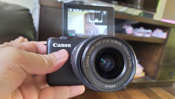 Câmera Canon M10 Com Lente
