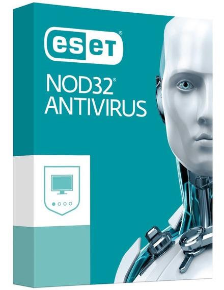 Licença Eset Nod 32 Antivírus 3 Pc 2 Anos Envio Grátis