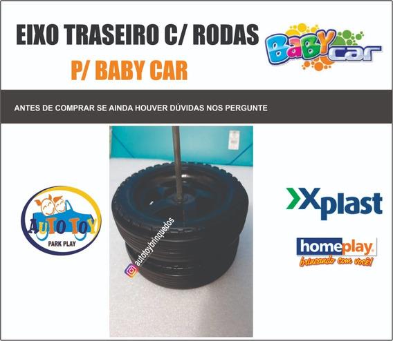 Baby Car - Homeplay - Só O Eixo Traseiro Com Rodas