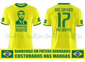 Camisa Bolsonaro Presidente Brasil