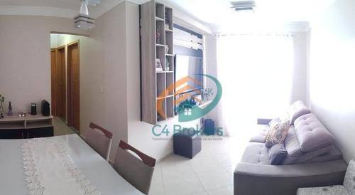 Imagem 1 de 19 de Apartamento Com 3 Dormitórios À Venda, 64 M² Por R$ 375.000 - Picanco - Guarulhos/sp - Ap2526