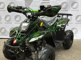 Cuatrimoto Infantol 110cc Motor 4 Tiempos Rojo, Verde