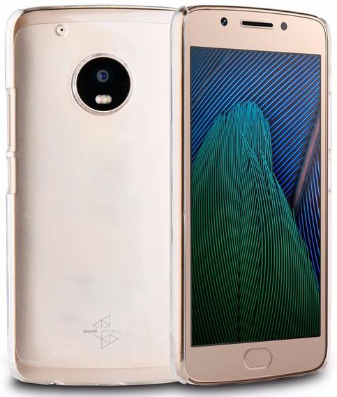 Capa Cristal Para Moto G5 Plus Original Muvit Licen Motorola