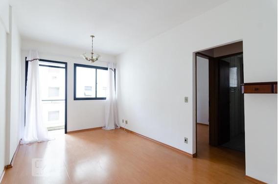 Apartamento No 7º Andar Com 1 Dormitório E 1 Garagem - Id: 892968613 - 268613