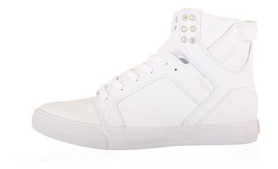 Tenis Supra Hombre Blanco Skytop White S18191