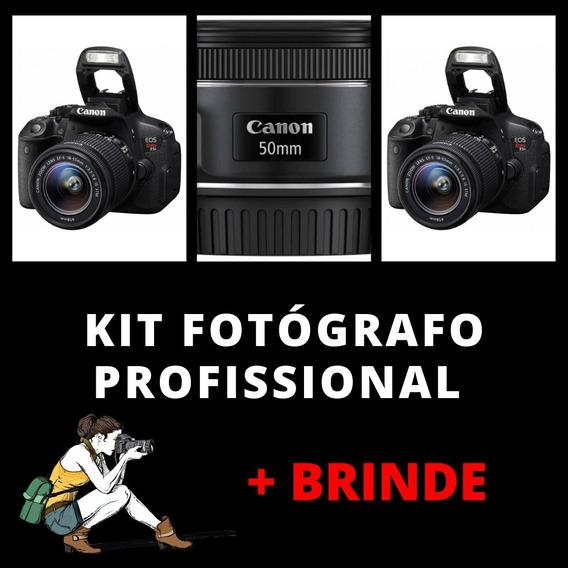 Câmera Canon T5i Profissional