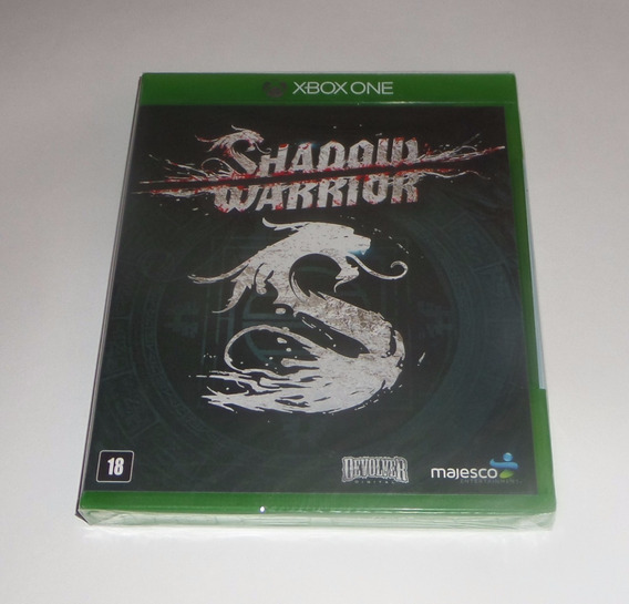 Shadow Warrior Original Lacrado Mídia Física Xbox One