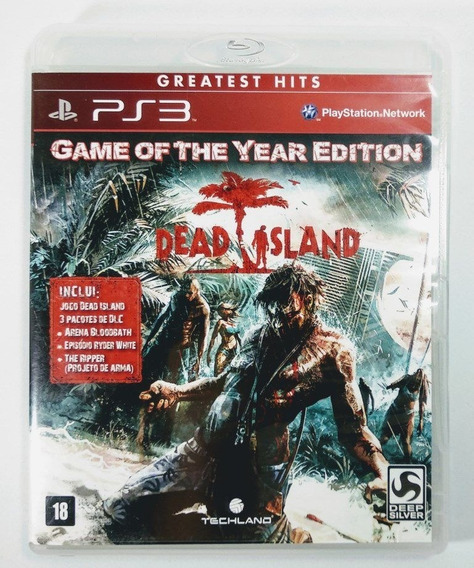 Dead Island Game Of The Year Edition - Ps3