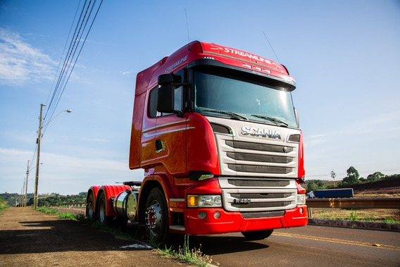 Scania R 480 6x4 2014 Streamline Retarder