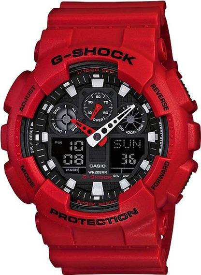 Relógio Casio G-shock Ga-100b-4adr Three Eye