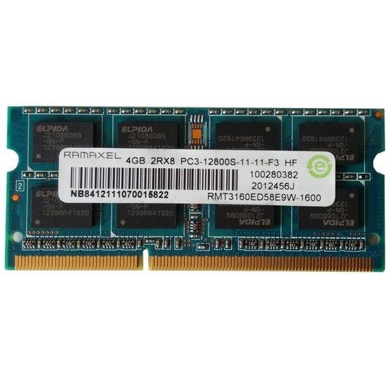 Memoria Ram Ddr3 4gb Pc3-12800 Para Laptop Casi New X 20 Dol